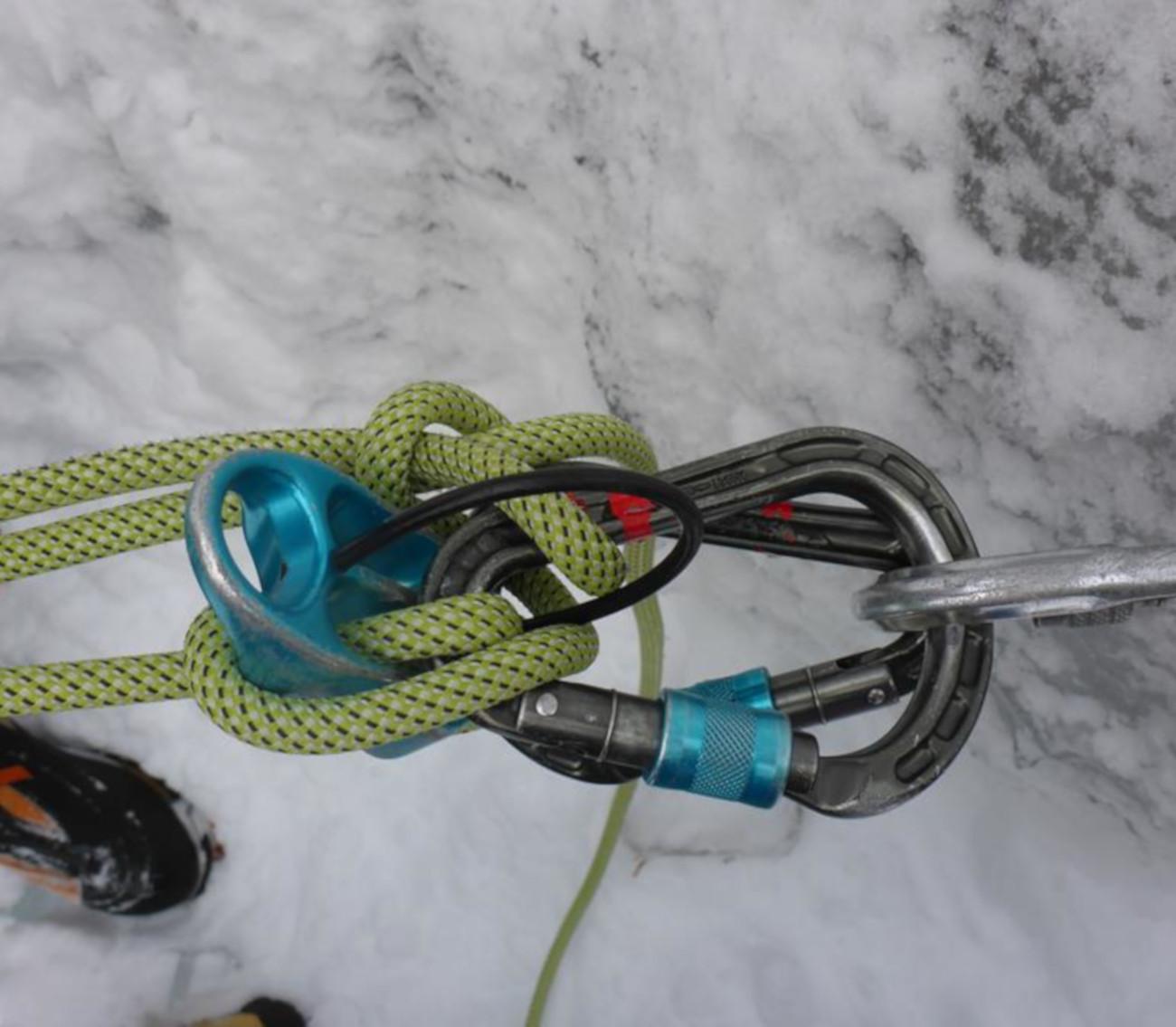 Eisklettern für Einsteiger*innen