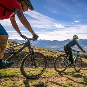 Mountain. Bike. Natur.