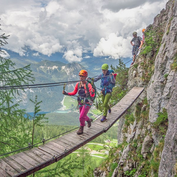 Grundmodul Klettersteig
