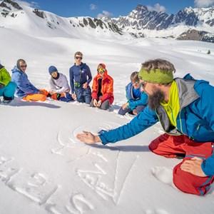 Berg. Skitour. Erlebnis.